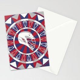 Lacrosse Shakey Dartboard Stationery Cards