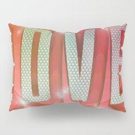 LOVE Pop Art Pillow Sham