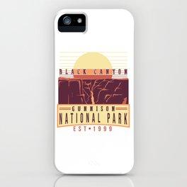 Black Canyon Gunnison National Park Est 1999 iPhone Case