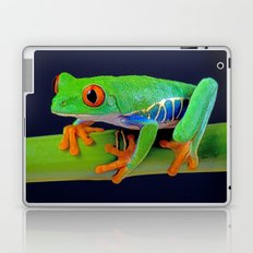 TREE FROG ON BAMBOO Laptop & iPad Skin
