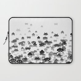Invaded III B&W Laptop Sleeve