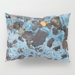 Glacial Gold :: Alaskan Ice Pillow Sham