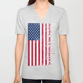 Merican Flag OG Unisex V-Neck