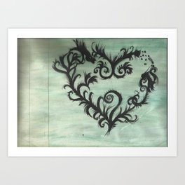 A thorn for every heart Art Print