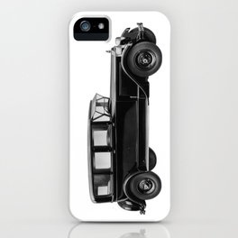 Vintage car - Packard eight limousine sedan iPhone Case