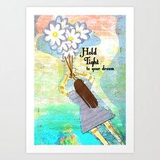 Hold Tight Art Print