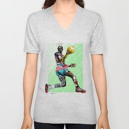 MichaelJordan | The Last Dance Unisex V-Neck
