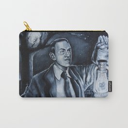 H.P.Lovecraft in Cemetery Carry-All Pouch
