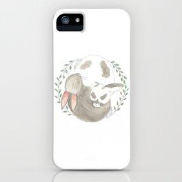 Bunny Love iPhone Case