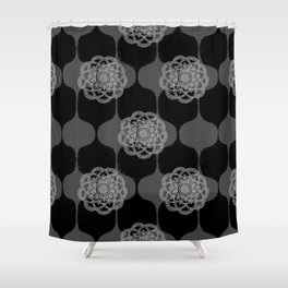 I DREAM OF GENIE - BLACK/GREY/PINK Shower Curtain