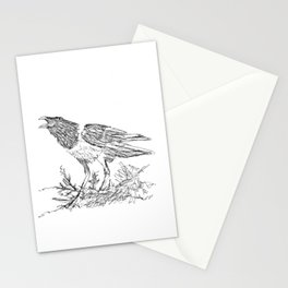 African Crow - Ria Loader Stationery Cards