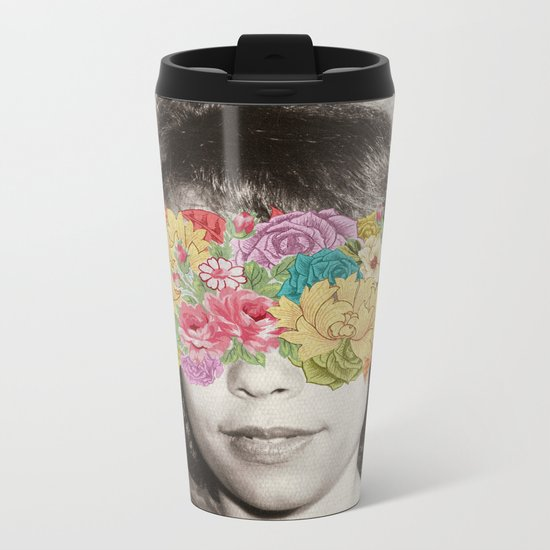 Her Point Of View Metal Travel Mug