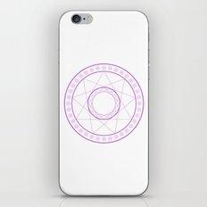 Anime Magic Circle 7 iPhone & iPod Skin