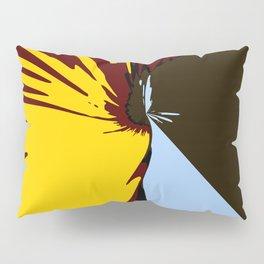 Waterfall Modern Art Colorful Scenery Pillow Sham