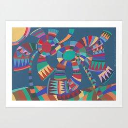 Wind and Sunshine Art Print