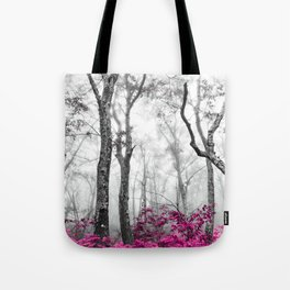 Princess Pink Forest Garden Tote Bag