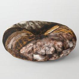 Rattlesnake-I Floor Pillow