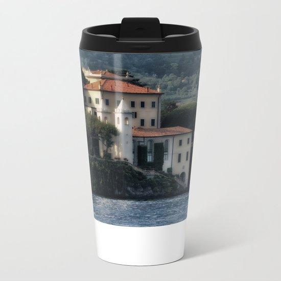 Villa del Balbianello - Lake Como Metal Travel Mug
