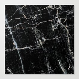 Black Marble Edition 1 Canvas Print
