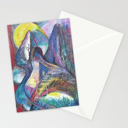Staircase to the Sun Stationery Cards
