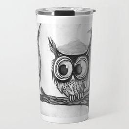 Hiboux Travel Mug