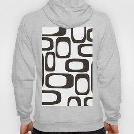 Mid Century Modern Shapes Black And White #society6 #buyart Hoody
