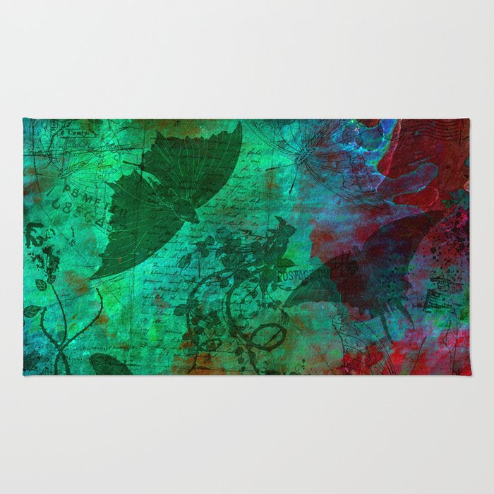 All  Those Butterflies Rug