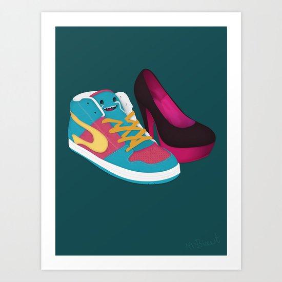 Shoe Lovin' Art Print