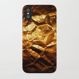 Golden Wrapper iPhone Case