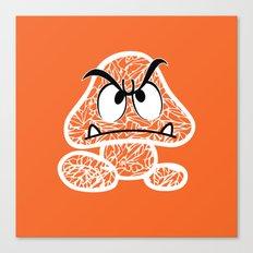 Goomba #CrackedOutBadGuys Canvas Print
