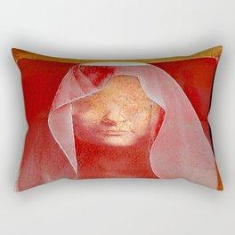 The eyes of the heart Rectangular Pillow
