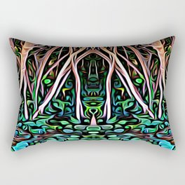 Forest Princess Rectangular Pillow