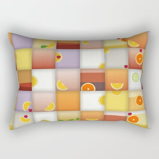 cocktail squares Rectangular Pillow