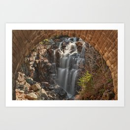 Hadlock Arch Falls Art Print