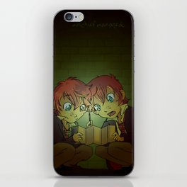 Mischief Managed! iPhone Skin