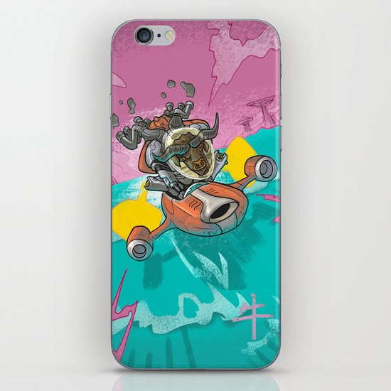 Astro Zodiac Force 02:  Ox iPhone & iPod Skin