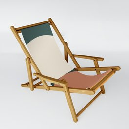 Abstract Geometric 01E Sling Chair