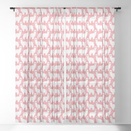 The Alpacas II Sheer Curtain