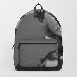 Benjamin Maxham - portrait of Henry David Thoreau Backpack