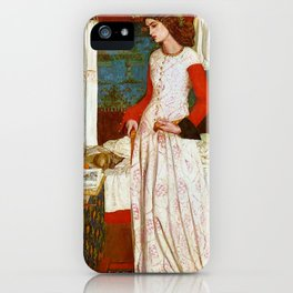 """William Morris """"La Belle Iseult (Queen Guinevere)"""" iPhone Case"""