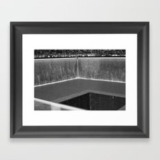 WTC Memorial 1/2/World trade Center Framed Art Print