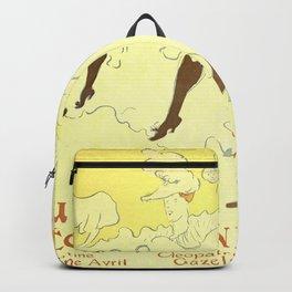 """Henri de Toulouse-Lautrec """"Troupe Mademoiselle Eglantine"""" Backpack"""