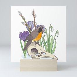 Hello, spring! Mini Art Print