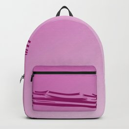 Pink wild ethno lines, ECO PINK Sugar Backpack