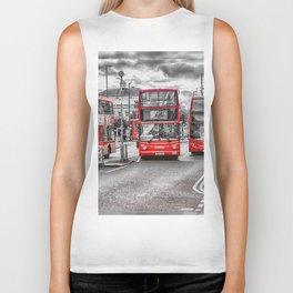 London Red Buses Biker Tank