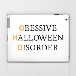 O.H.D. | Halloween Obsessed Laptop & iPad Skin