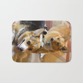 Josh The Corgi Bath Mat