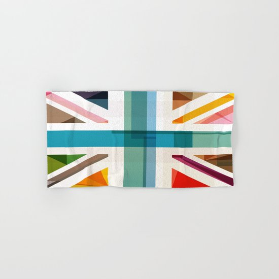 MultiCultural Britain Hand & Bath Towel