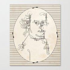 Custom made Mozart Canvas Print