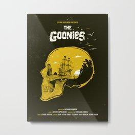 The Goonies art movie inspired Metal Print